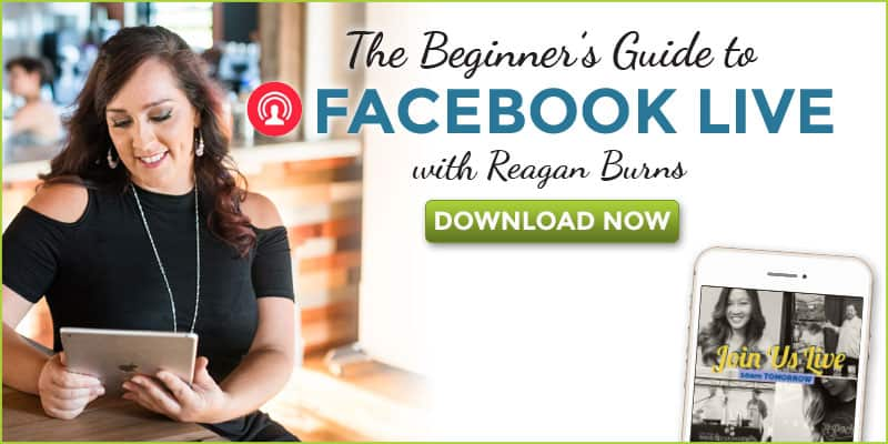 Get your free beginner's guide to facebook live