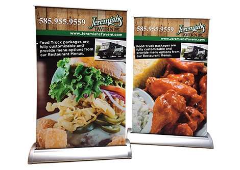 Jeremiah's Tavern Stand Up Banners