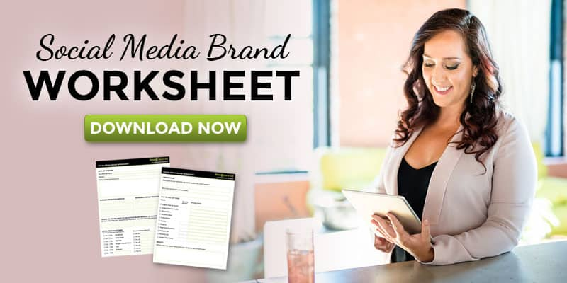 Social Media Brand Worksheet